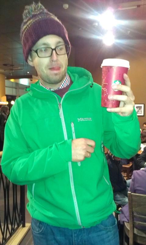 świąteczna kawa Starbucks
