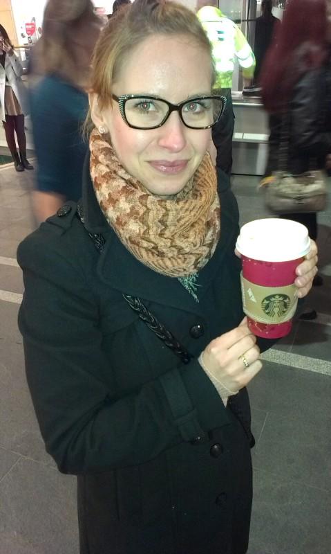 świąteczna kawa Starbuck