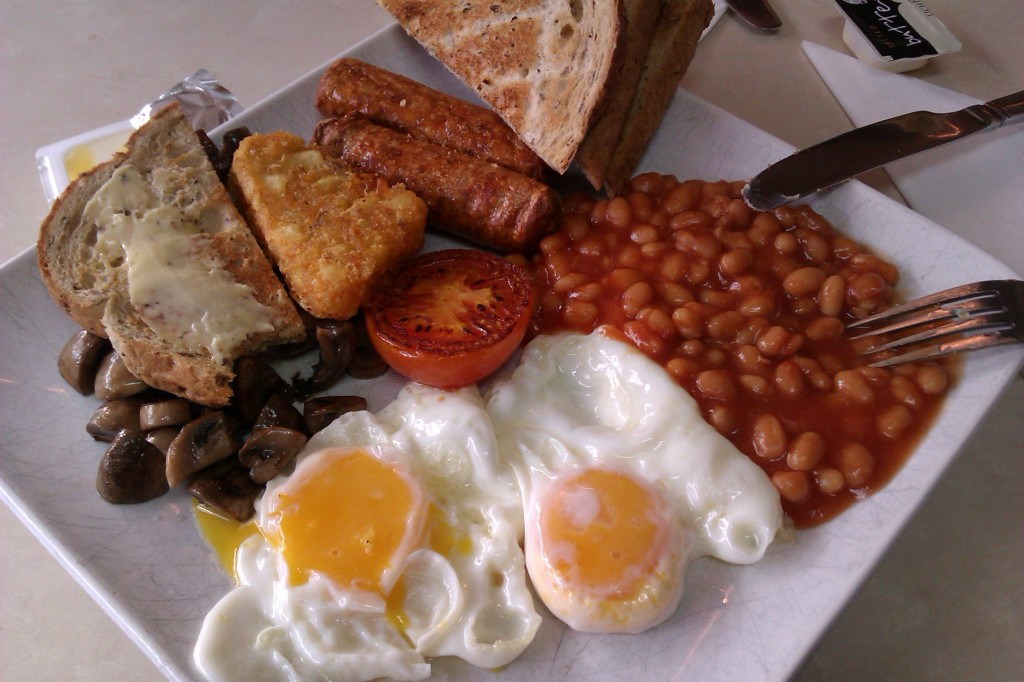 veggi english breakfast