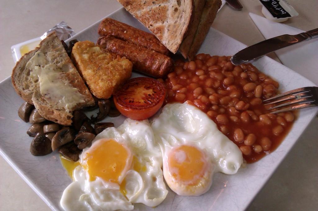 veggi english breakfast